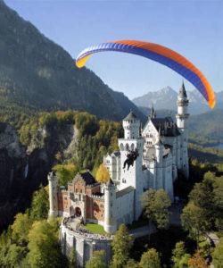 Полет на параплане с инструктором в Германии