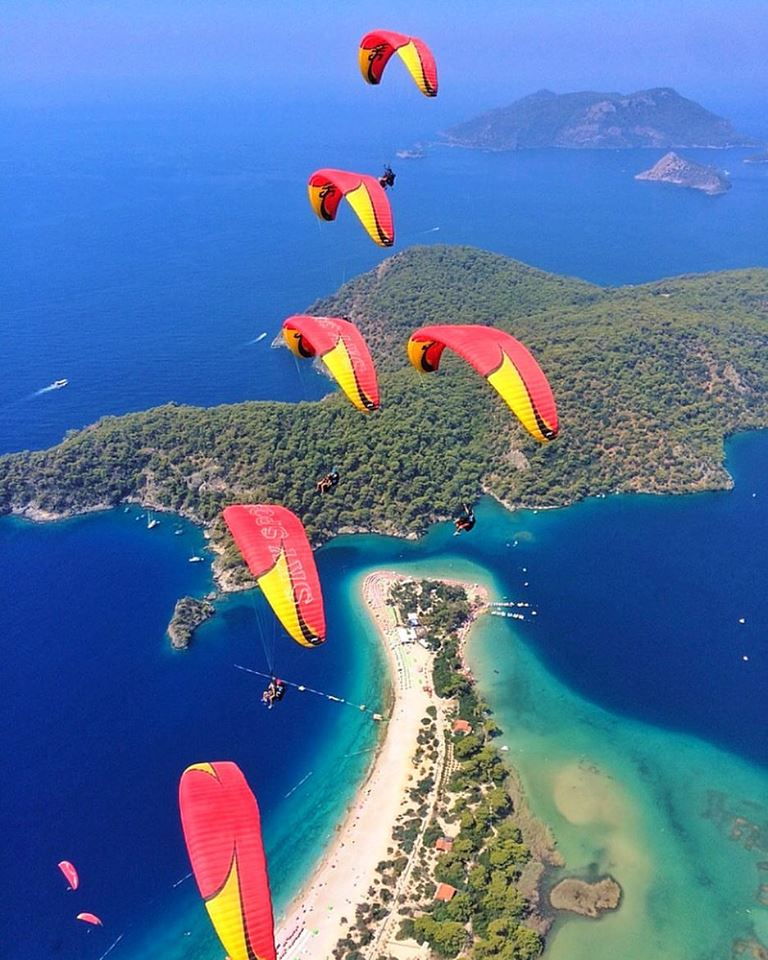 Фотография полета в Турции