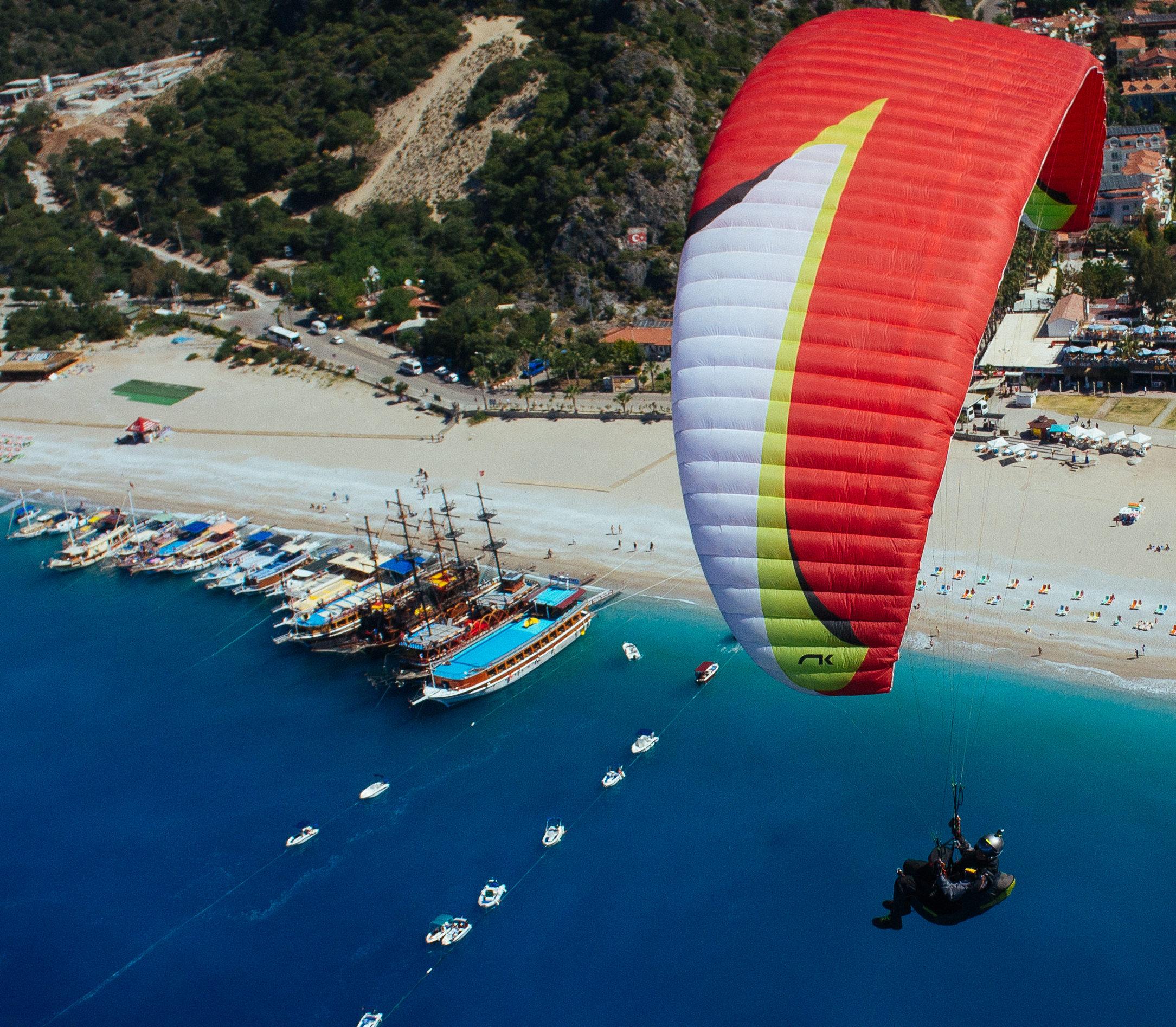 Полеты на параплане в Турции, Олюдениз, СИВ курс