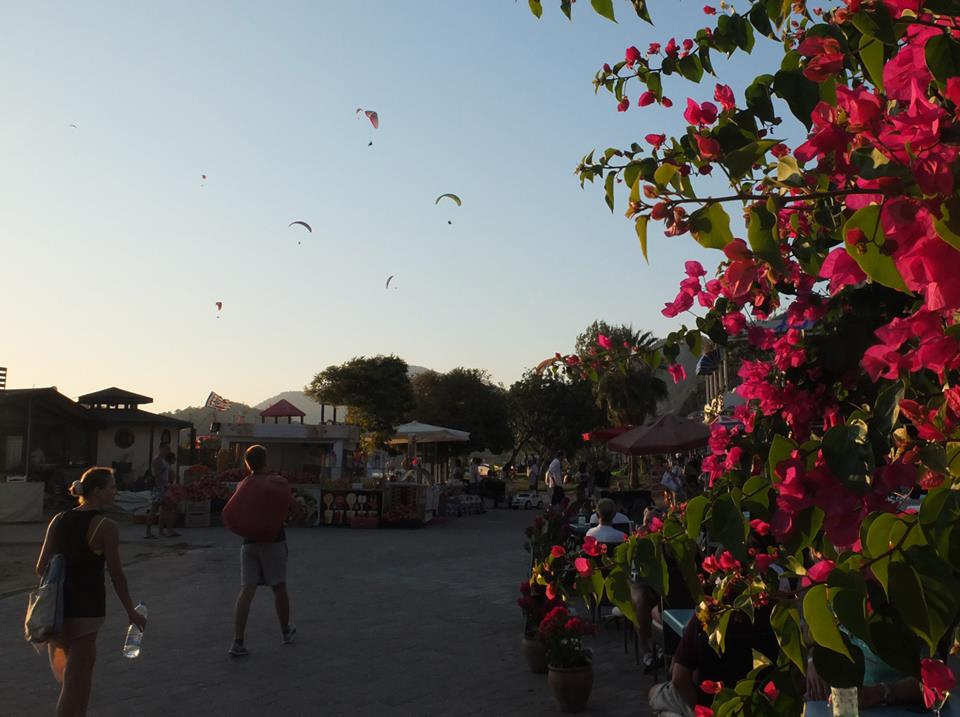 Прлеты на параплане в Турции