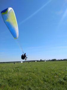 Высотный полет с инструктором на параплане