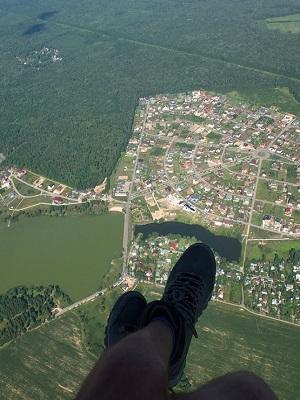 Высотный полет на параплане с инструктором