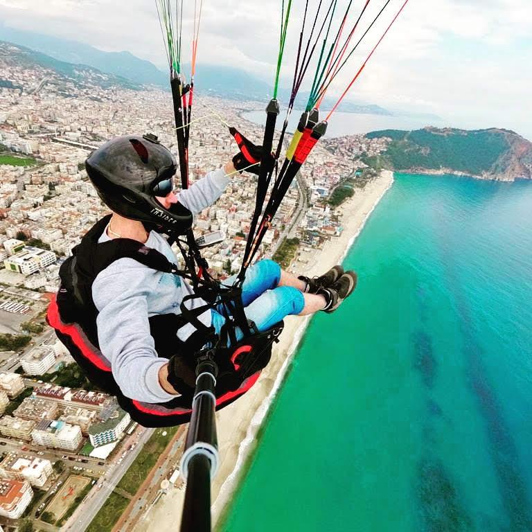 Обучение полетам на параплане в Турции